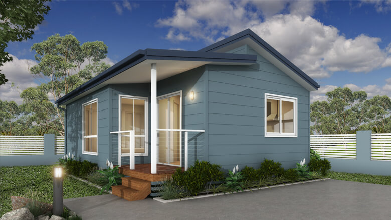 Rendered image of The Zinfandel 1 Bedroom Park Cabin